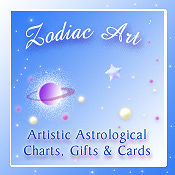 Artistic Astrological Charts